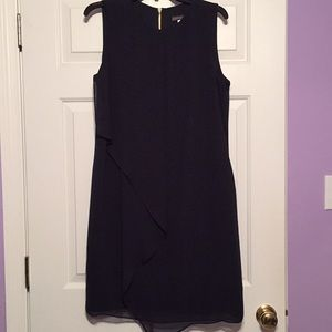 Covington dark blue sleeveless dress